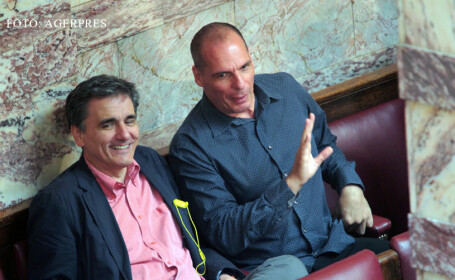 Euclid Tsakalotos si Yannis Varoufakis
