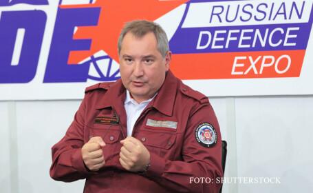 Dmitri Rogozin FOTO SHUTTERSTOCK