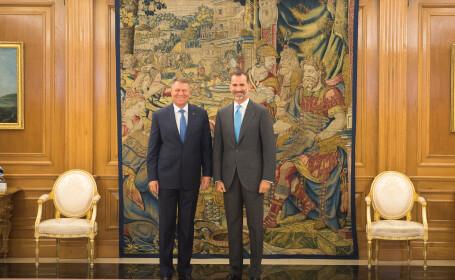 Klaus Iohannis, Felipe al VI-lea - ADMIN. PREZIDENTIALA