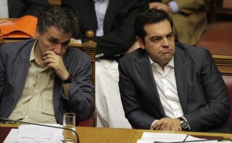 Euclid Tsakalotos, Alexis Tsipras - Agerpres