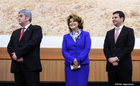 Gabriel Oprea, Rovana Plumb, Daniel Constantin - AGERPRES
