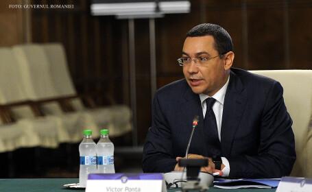 Victor Ponta in sedinta de Guvern