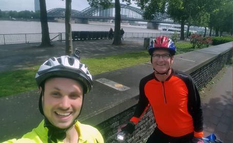 irlandezi pe biciclete
