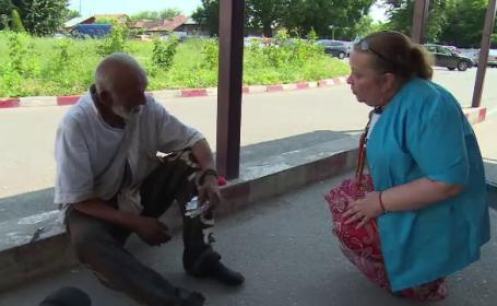 Ziua Cartitei intr-o localitate din Dambovita. Un om fara adapost ajunge zilnic la spital, doarme, iar apoi pleaca pe strazi