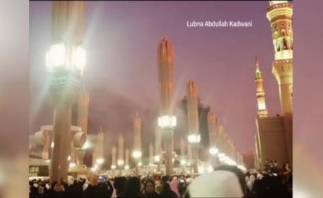 atac sinucigas la moscheea din Medina