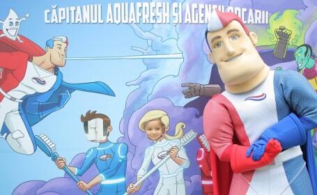 """(P) Caravana """"Zambeste Romania"""" vine la Brasov! Vezi ce surprize iti pregateste Capitanul Aquafresh, pe 9 si 10 iulie"""