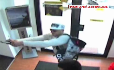 Politistii au retinut in Vama Siret un suspect in cazul jafului armat de la banca din Bistrita. Ce l-a dat de gol pe barbat