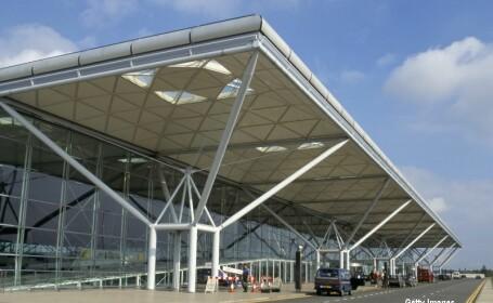 aeroportul Stansted de langa Londra