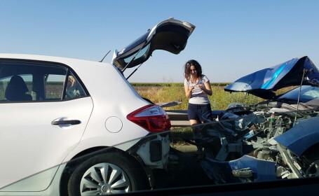 Accidente in lant in care au fost implicate 21 masini pe Autostrada Soarelui, in aceasta dimineata. Cum se circula in zona