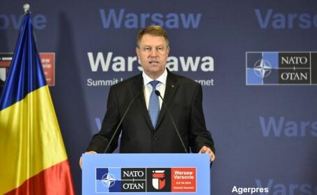 Ce a obtinut Romania dupa summitul NATO de la Varsovia. Iohannis: \
