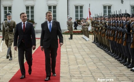 Klaus Iohannis si presedintele Poloniei