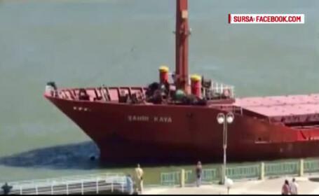 nava turceasca in portul Tulcea