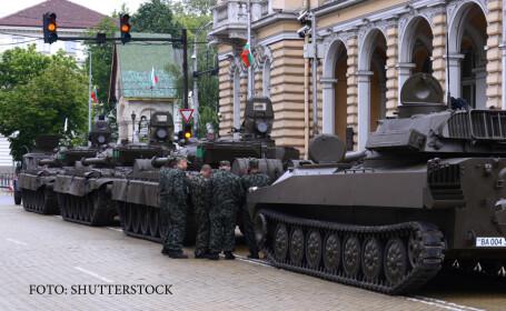 parada militara in Varna, armata bulgara