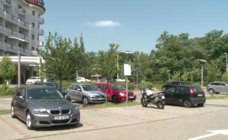 Turistii care s-au trezit cu motocicletele furate, in Sibiu, chiar din parcarea hotelului de 5 stele. Explicatia paznicului