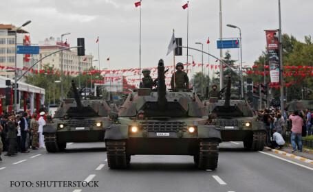 defilare armata turca in Istanbul