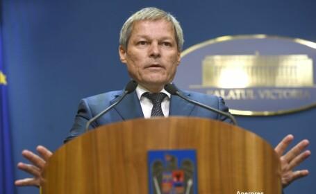 Dacian Ciolos, ultima declaratie ca prim-ministru. \