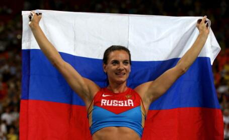 Atletii rusi, interzisi la Jocurile Olimpice de la Rio. Isinbaeva, ironica: \
