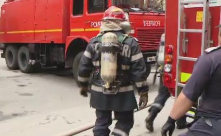 Incendiu intr-un restaurant din Sectorul 4 al Capitalei. In zona s-a degajat foarte mult fum