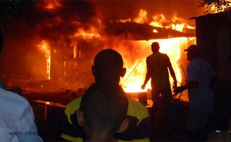 incendiu Madagascar