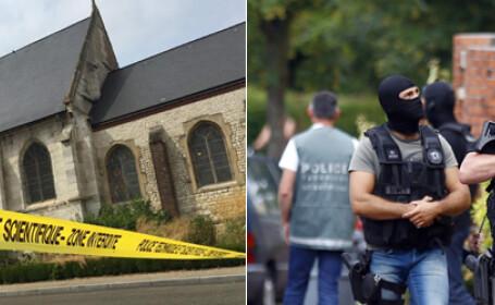 cover prima Biserica din Saint-Etienne-du-Rouvray atac