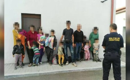 15 refugiati irakieni au fost prinsi, vineri dimineata, langa punctul de trecere a frontierei de la Sannicolau Mare