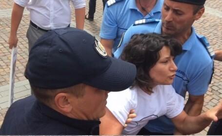 Godina, despre tanara ridicata de jandarmi la Cluj: \