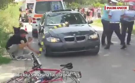 Trei turisti englezi, loviti de o masina in Tulcea, in timp ce mergeau pe biciclete. Unul dintre ei a murit