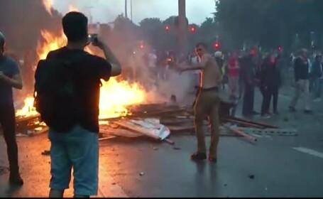 Manifestatii violente la Hamburg, impotriva summitului G20. Peste 100 de politisti au fost raniti in ciocnirile cu activistii