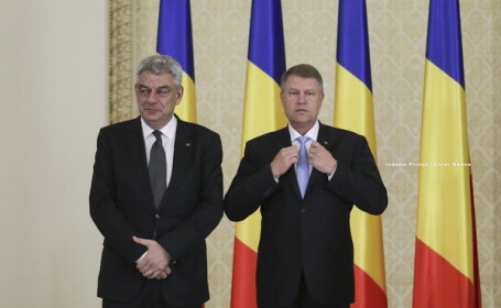 Klaus Iohannis, Mihai Tudose