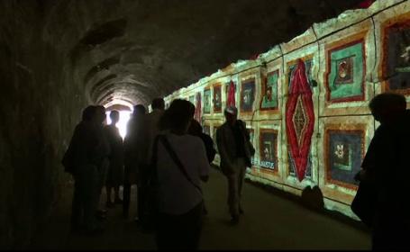 Frescele de acum 2.000 de ani, de pe Dealul Palatin, din Roma, refacute prin proiectii luminoase. Planurile autoritatilor