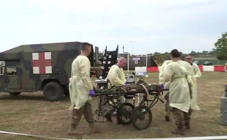 exercitiu militar NATO, medici