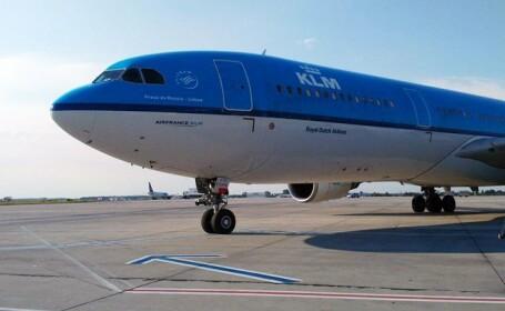 aterizare de urgenta KLM