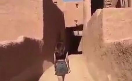 O tanara din Arabia Saudita risca sa fie arestata dupa ce a purtat \