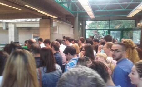 pipera, metrou, aglomeratie,