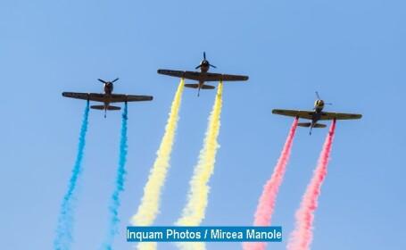 Ceremonie militara cu ocazia Zilei Aviatiei Romane