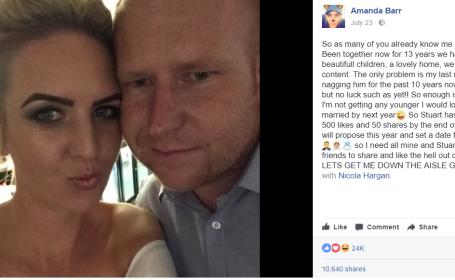 A promis ca se casatoreste cu iubita daca postarea ei de pe Facebook aduna 500 de like-uri. Ce s-a intamplat dupa o ora