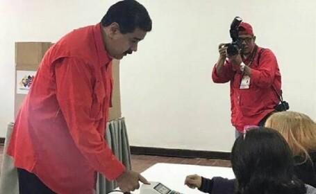 Venezuela, alegeri, vot