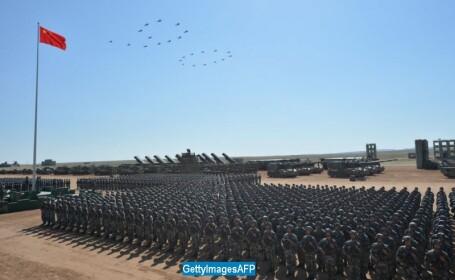 Parada militara in China