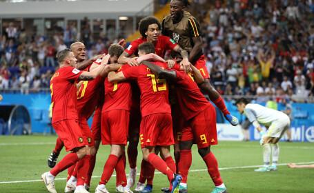 Cupa mondială 2018. Belgia, victorie în faţa Japoniei, cu 3-2, în optimi
