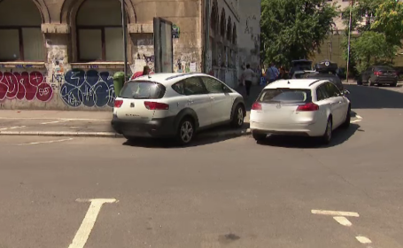 Ce soluții au găsit șoferii din București pentru a scăpa de taxa de parcare impusă de primărie