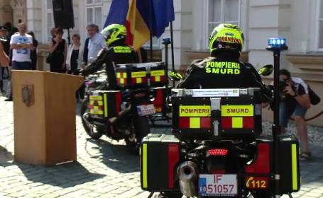 motocicleta pompieri
