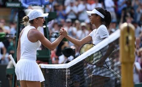 """Su-Wei Hsieh, prima reacție după ce a eliminat-o pe Halep la Wimbledon. """"M-au împins de la spate"""""""