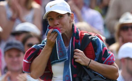 """Mesajul transmis de Simona Halep, după înfrângerea de la Wimbledon. """"Atitudinea mea a fost prea negativă"""""""