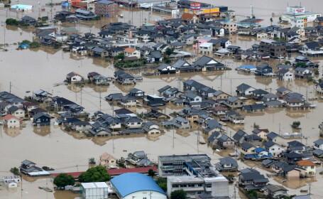Bilanț devastator după inundații în Japonia: peste 76 de morți și milioane de evacuați