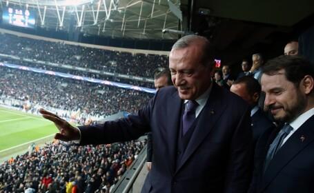 Erdogan l-a numit în funcția de ministru al finanțelor pe ginerele său