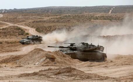 Israelul a atacat poziţii ale armatei siriene. Siria a răspuns la loviturile aeriene