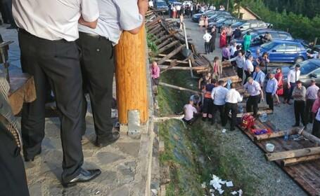 Incident la o nuntă din județul Neamț. A fost activat planul roșu de intervenție