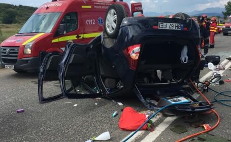 Accident grav, luni după amiază, în Hunedoara. Bilanțul victimelor