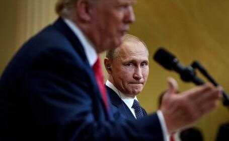 """Putin, după întâlnirea cu Trump: """"Rusia nu a interferat niciodată"""" în alegerile din SUA"""