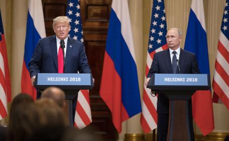 """Trump se scuză după gafa cu Putin. Spune că ar fi uitat să spună un cuvânt cheie: """"Nu"""""""